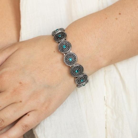Blue bracelet paparazzi